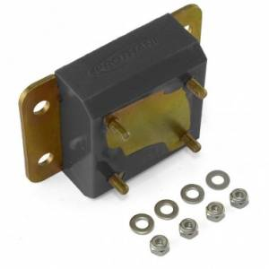 Transmission - Misc. Transmission Parts - Rugged Ridge - Rugged Ridge Transmission Mount, Black (1997-06) Jeep Wrangler TJ