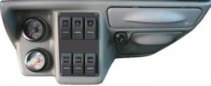 Ford Genuine Parts - Ford F-650 Dash Kit, Ford (1999-03) Super Duty (Automatic Transmission)