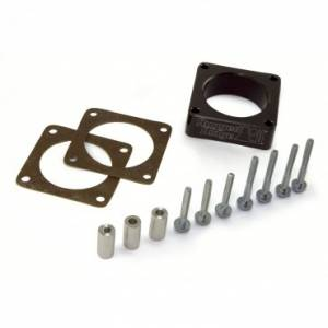 Engine Parts - Throttle Body Spacers - Rugged Ridge - Rugged Ridge Throttle Body Spacer (1991-06) Jeep Cherokee/Wrangler XJ/YJ/TJ