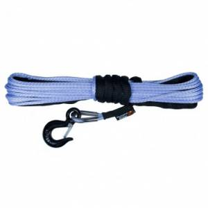 Winches - Winch Accessories & Parts - Rugged Ridge - Rugged Ridge Synthetic Winch Line, 1/4 Inch X 50 feet