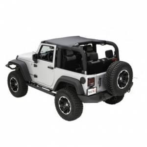 Jeep Tops & Doors - Jeep Tops - Rugged Ridge - Rugged Ridge Summer Brief, Black Diamond (2010-15) Jeep Wrangler JK
