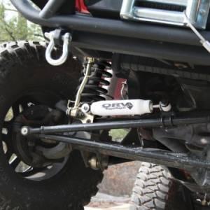 Steering/Suspension Parts - Steering Stabilizers - Rugged Ridge - Rugged Ridge Steering Stabilizer (1984-06) Jeep Cherokee/Wrangler XJ/TJ