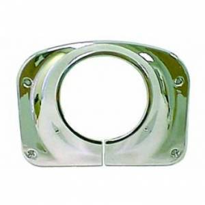 Interior Accessories - Interior Dress Up  - Rugged Ridge - Rugged Ridge Steering Column Cover, Chrome (1976-86) Jeep CJ Models