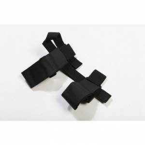 Interior Accessories - Switches and Accessories  - Rugged Ridge - Rugged Ridge Sport Bar Flashlight Holder, Black (1955-15) Jeep CJ/Wrangler YJ/TJ/JK