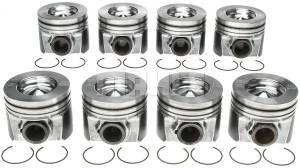 Engine Gaskets & Seals - Engine Overhaul Kits - Mahle - Mahle Ford Overhaul Kit, Ford (2011-16) 6.7L Power Stroke, 0.00 Standard Size Pistons