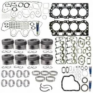 Engine Gaskets & Seals - Engine Overhaul Kits - Mahle - MAHLE Clevite Complete Engine Overhaul Kit, Chevy/GMC (2004.5-05) 6.6L Duramax LLY (VIN Code 2)
