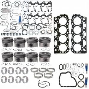 Engine Gaskets & Seals - Engine Overhaul Kits - Mahle - MAHLE Clevite Complete Engine Overhaul Kit, Chevy/GMC (2007.5-10) 6.6L Duramax LMM (VIN Code 6)