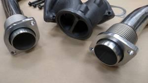 AVP - AVP Bellowed Stainless Up-Pipe Kit, Ford (1999.5-03) 7.3L Power Stroke - Image 2