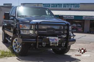 Tough Country - Tough Country Standard Traditional Front with Winch Mount, Ford (2011-15) F-250 & F-350 Super Duty