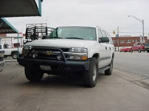 Tough Country - Tough Country Custom Apache Front Bumper, Chevy (1988-00) 1500, 2500, & 3500 Silverado & (92-98) Suburban