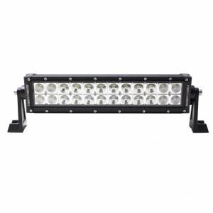 "Off-Road Lighting - Dual Row LED Light Bars - Tough Country - Tough Country Torch LED Light Bar, 12"""