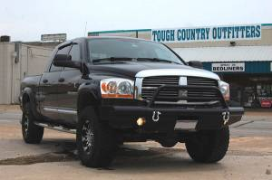 Tough Country - Tough Country Custom Apache Front Bumper Replacement, Dodge (2006-08) 1500 (NON Mega Cab)