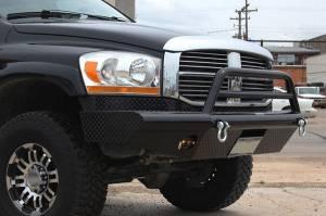 Brush Guards & Bumpers - Front Bumpers - Tough Country - Tough Country Custom Apache Front Bumper, Dodge (2006-09) 1500 Mega Cab, 2500, & 3500