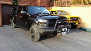 Tough Country - Tough Country Custom Apache Front Bumper, Chevy (2015-19) 2500 & 3500 Silverado
