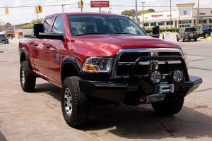 Brush Guards & Bumpers - Front Bumpers - Tough Country - Tough Country Custom Apache Front Bumper, Dodge (2010-17) 2500 & 3500