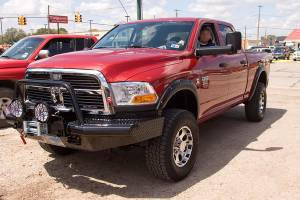 Tough Country - Tough Country Custom Apache Front Bumper, Dodge (2009-12) 1500 (Non Mega Cab)