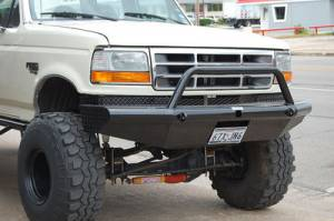 Brush Guards & Bumpers - Front Bumpers - Tough Country - Tough Country Custom Apache Front Bumper, Ford (1992-97) F-250 & F-350