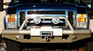 Brush Guards & Bumpers - Front Bumpers - Tough Country - Tough Country Custom Apache Front Bumper, Ford (2008-10) F-450 & F-550