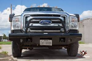 Tough Country - Tough Country Custom Apache Front Bumper, Ford (2011-16) F-250, F-350, F-450, F550