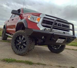Tough Country - Tough Country Custom Apache Front Bumper, Toyota (2014-15) Tundra