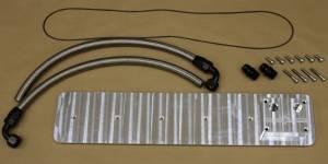 Engine Parts - Miscellaneous Maintenance Items - Diamond T Enterprises - Diamond T Billet Tappet Cover Kit, Dodge (1989-02) 5.9L Cummins (with CCV & Oil Catch Can & CCV)