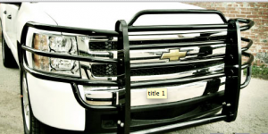 Brush Guards & Bumpers - Grille Guards - Tough Country - Tough Country Custom Brush Guard, Chevy (2014-15) 1500 Silverado
