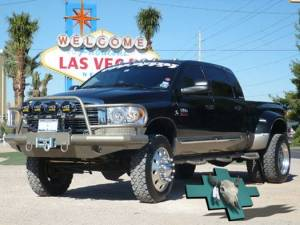 Tough Country - Tough Country Custom Deluxe Front Bumper, Dodge (2006-09) 1500 Mega Cab, 2500 & 3500 - Image 2