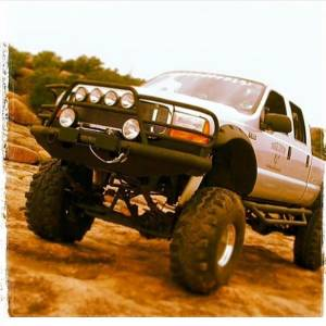 Tough Country - Tough Country Custom Deluxe Front Bumper, Ford (1999-04) F-250, F-350, F-450, F-550 & (00-04) Excursion - Image 2