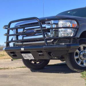 Tough Country - Tough Country Custom Deluxe Front Bumper, Ford (2011-16) F-250 & F-350