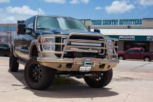 Tough Country - Tough Country Custom Deluxe Front Bumper, Ford (2011-16) F-250 & F-350 - Image 10