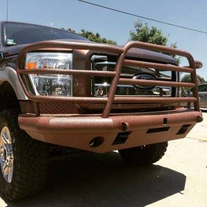 Tough Country - Tough Country Custom Deluxe Front Bumper, Ford (2011-16) F-450 & F-550