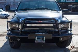 Brush Guards & Bumpers - Front Bumpers - Tough Country - Tough Country Custom Deluxe Front Bumper, Dodge (2009-12) 1500 (non-Mega Cab)