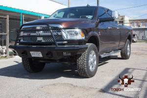 Tough Country - Tough Country Custom Deluxe Front Bumper, Dodge (2010-14) 4500 & 5500 - Image 10