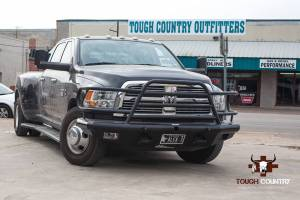 Tough Country - Tough Country Custom Deluxe Front Bumper, Dodge (2010-14) 4500 & 5500