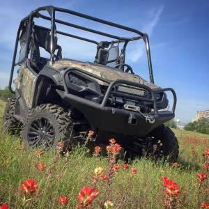 Brush Guards & Bumpers - ATV/UTV Heavy Duty Bumpers - Tough Country - Tough Country UTV Front Bumper, Honda (2016-17) Pioneer