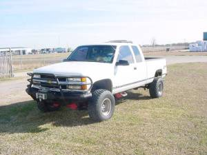Tough Country - Tough Country Custom Deluxe Front Bumper, Chevy/GMC (1988-00) 1500, 2500, 3500 & (92-98) Suburban
