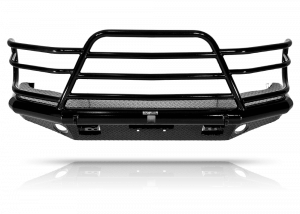 Tough Country - Tough Country Custom Deluxe Front Bumper, GMC (2003-07) 2500 & 3500 Sierra