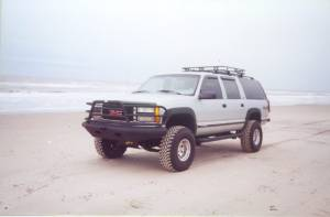 Tough Country - Tough Country Custom Deluxe Front Bumper, Chevy (1999-02) 1500 Silverado & (99-06) 1500 Suburban/Tahoe
