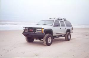 Brush Guards & Bumpers - Front Bumpers - Tough Country - Tough Country Custom Deluxe Front Bumper, Chevy (1999-02) 1500 Silverado & (99-06) 1500 Suburban/Tahoe