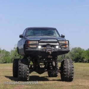 Tough Country - Tough Country Custom Deluxe Front Bumper, Chevy (2001-02) 2500 & 3500 Silverado - Image 4