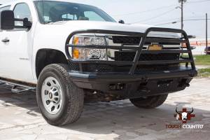 Tough Country - Tough Country Custom Deluxe Front Bumper, Chevy (2011-14) 2500 & 3500 Silverado