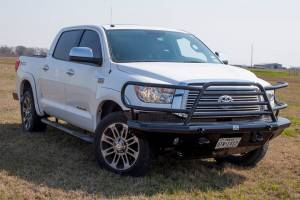 Tough Country - Tough Country Custom Deluxe Front Bumper, Toyota (2014-15) Tundra