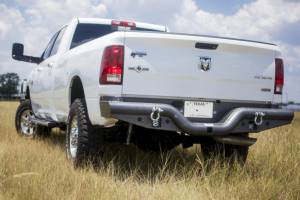 Brush Guards & Bumpers - Rear Bumpers - Tough Country - Tough Country Custom Deluxe Rear, Dodge (2003-09) 2500 & 3500 (06-09) 1500 Mega Cab Ram