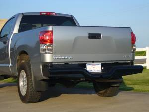 Brush Guards & Bumpers - Rear Bumpers - Tough Country - Tough Country Custom Deluxe Rear, Toyota (2014-15) Tundra