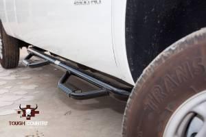 Tough Country - Tough Country Deluxe Cab Length 4 Step Bars, Chevy/GMC (1999-13) 1500, 2500 & 3500 4 Door Silverado/Sierra - Image 2