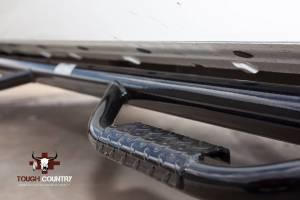 Tough Country - Tough Country Deluxe Cab Length 4 Step Bars, Chevy/GMC (1999-13) 1500, 2500 & 3500 4 Door Silverado/Sierra - Image 3