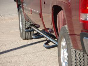 Nerf Bars & Steps - Nerf Steps - Tough Country - Tough Country Deluxe Full Length 6 Step Bars, Chevy/GMC (1999-06) 1500 (99-13) 2500 & 3500 4 Door - 6' Bed Silverado/Sierra