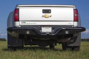 Brush Guards & Bumpers - Rear Bumpers - Tough Country - Tough Country Custom Dually Deluxe Rear, Chevy/GMC (2011-14) 3500 Silverado & Sierra
