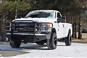 Tough Country - Tough Country Custom Traditional Front Bumper, Ford (2005-07) F-250/F-350/F-450/F-550 Super Duty & (05) Excursion - Image 9
