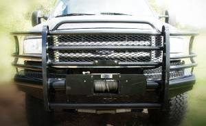 Tough Country - Tough Country Custom Traditional Front Bumper, Ford (2005-07) F-250/F-350/F-450/F-550 Super Duty & (05) Excursion - Image 5